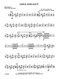 linus and lucy sheet music easy pdf