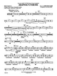 Hedwig's Theme (from Harry Potter) - Conductor Score & Parts Sheet ...