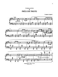 Three Preludes by Florent Schmitt Winkler, Marty