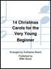 14 Christmas Carols for Very Beginner