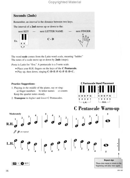 Adult Piano Adventures All In One Lesson Book 1 Solos