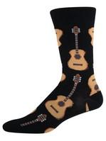 Men's Guitar Socks - Black