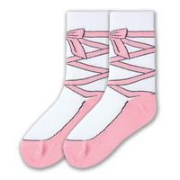 Girl's Ballet Slipper Sock