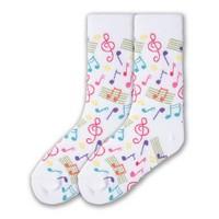Girl's Music Cotton Sock
