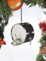 Black Bass Drum Christmas Ornament