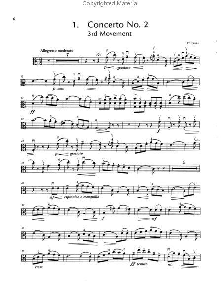 Suzuki Book  Viola Concerto