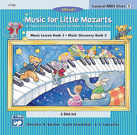 Music for Little Mozarts - General MIDI Disks for Book 3 by