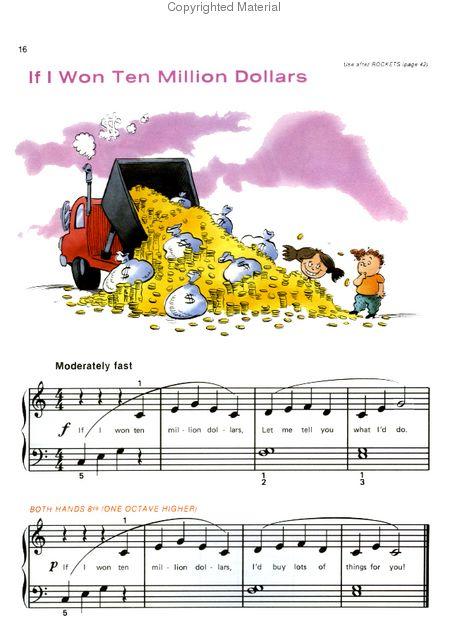 Alfred's Basic Piano Library - Fun Book Level 1A Sheet Music by Willard  Palmer, Morton Manus, Amanda Vick Lethco - Alfred Publishing Company -  Prima