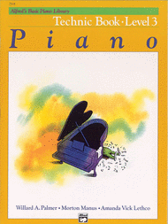Alfred's Basic Piano Library - Technic Book Level 3 Sheet