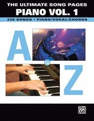 The Ultimate Song Pages: Piano Volume 1 Sheet Music by Various