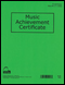 Music Achievement Certificate (Pack of 12) - Full Color (12 Certificates)