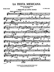 La Fiesta Mexicana (A Mexican Folk Song Symphony for Concert Band): B-flat  Tenor Saxophone - Belwin Mills - Prima Music