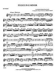bach organ fugue in g minor