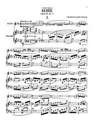 Suite, Op. 34, No. 1 by Charles Marie Widor