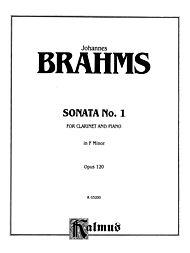 Sonata No. 1 in F Minor, Op. 120 by Johannes Brahms