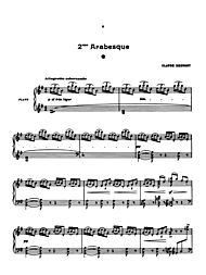 Debussy Arabesques 1&2 by Claude Debussy Winkler, Marty