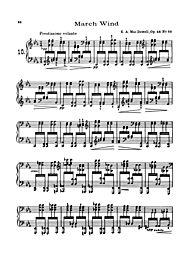 MacDowell 12 Virtuoso Studies (Piano Solos) by Edward MacDowell Winkler, Marty