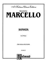 Sonata in E Minor by Benedetto Marcello