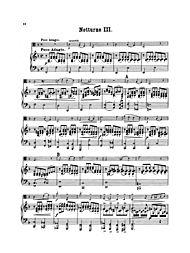 Six Nocturnes, Op. 186 by Kalliwoda, Johann W. (1801 - 1866)