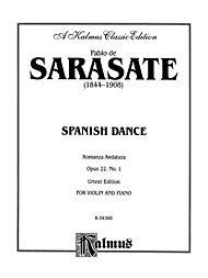 Spanish Dance, Op. 22, No. 1 (Romanza Andaluza) by Pablo de Sarasate