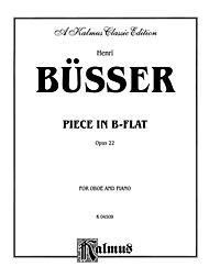 Piece in B-Flat, Op. 22 by Henri Busser