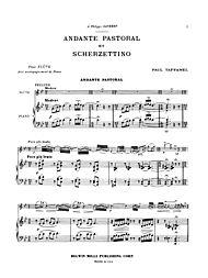 Andante Pastoral and Scherzettino by Paul Taffanel