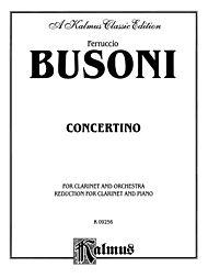 Concertino, Op. 48 by Busoni, Ferruccio (1866 - 1924)