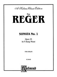 Sonata in F-Sharp Minor, Op. 33 by Max Reger