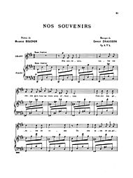 Thirty-Three Songs by Ernest Chausson