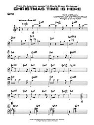 Christmas Time Is Here Chords.Christmas Time Is Here Guitar Chords Thecannonball Org