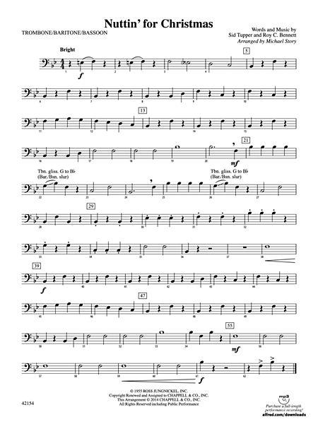 Nuttin For Christmas.Nuttin For Christmas 1st Trombone Alfred Publishing Company Prima Music