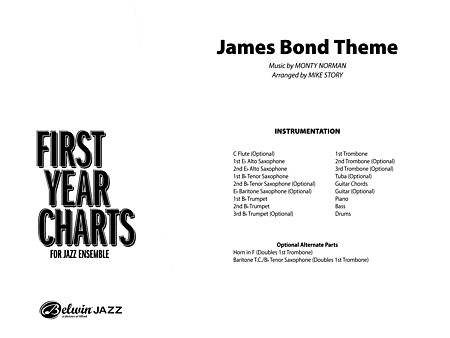 James Bond Theme: Score - Alfred Publishing Company - Prima Music