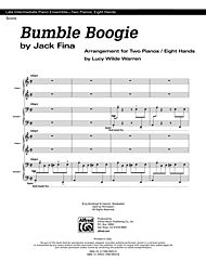 Bumble Boogie - 2 copies included (Sheet) by Jack Fina