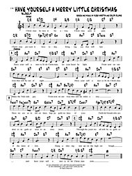 Have Yourself A Merry Little Christmas Lead Sheet.Love Is A Many Splendored Thing By Sammy Fain Paul Francis Webster Alfred Music Prima Music