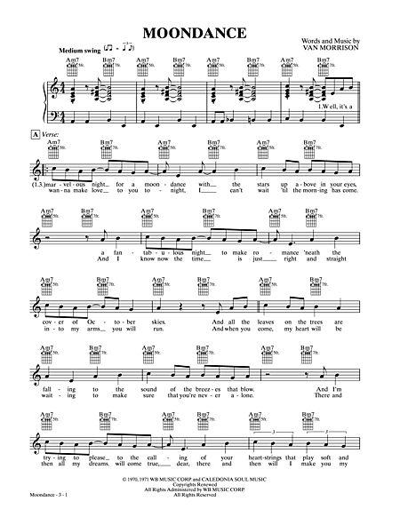 Moondance - Alfred Music - Prima Music