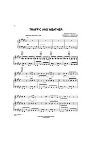 Traffic and Weather by No Composer Fountains of Wayne