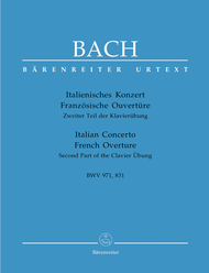 Italian Concerto BWV 971 and French Overture BWV 831 Sheet