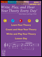 Write, Play, and Hear Your Theory Every Day, Book 5 - Answer Key