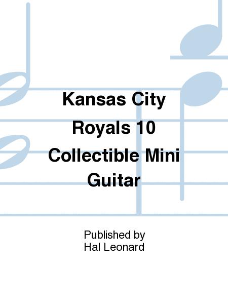 Kansas City Royals 10 Collectible Mini Guitar Sheet Music Woodrow