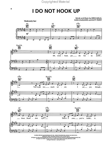 Kelly Clarkson All I Ever Wanted Sheet Music By No