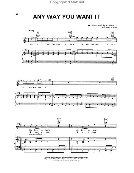 VH1's 100 Greatest Hard Rock Songs Sheet Music by No