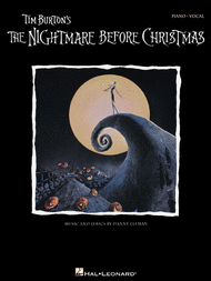 Tim Burton's The Nightmare Before Christmas Sheet Music by Danny Elfman -  Hal Leonard Corporation - Prima Music