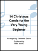 14 Christmas Carols for Very Beginner