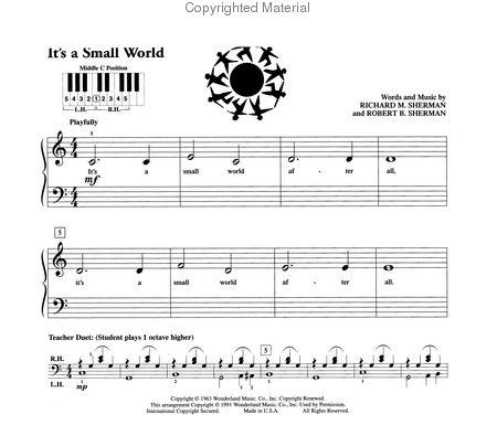 PreTime Piano Popular - Primer Level Sheet Music by No