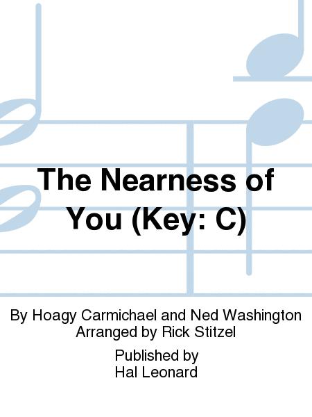 The Nearness Of You Key C Trumpet 3 By Ned Washington Hoagy
