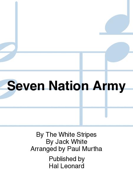 Seven Nation Army - Trombone 1 by Jack White - Hal Leonard - Prima Music
