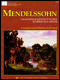 Mendelssohn: Selected Songs Without Words Scherzo In E Minor  (book only)