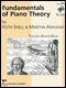 Fundamentals of Piano Theory Level 8 - Answer Book