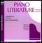 Piano Literature - Vol. 1 and Vol. 2 CD