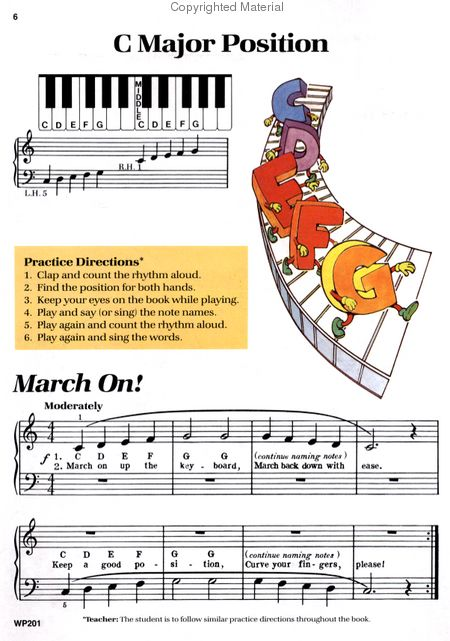 Bastien Piano Basics - Piano - Level 1 Sheet Music by